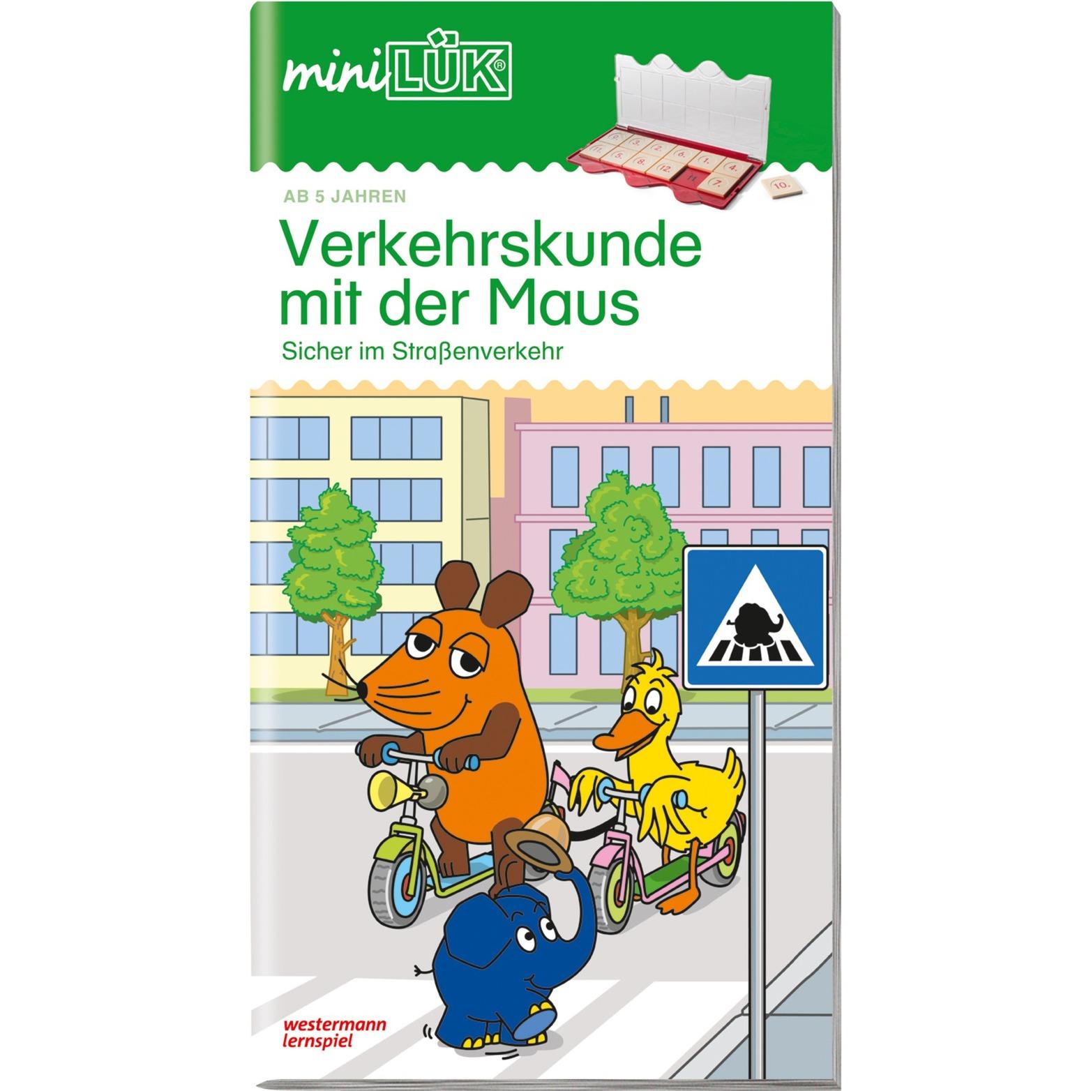 WESTERMANN miniLÜK-Heft: Verkehrskunde mit der Maus 1, Lernbuch