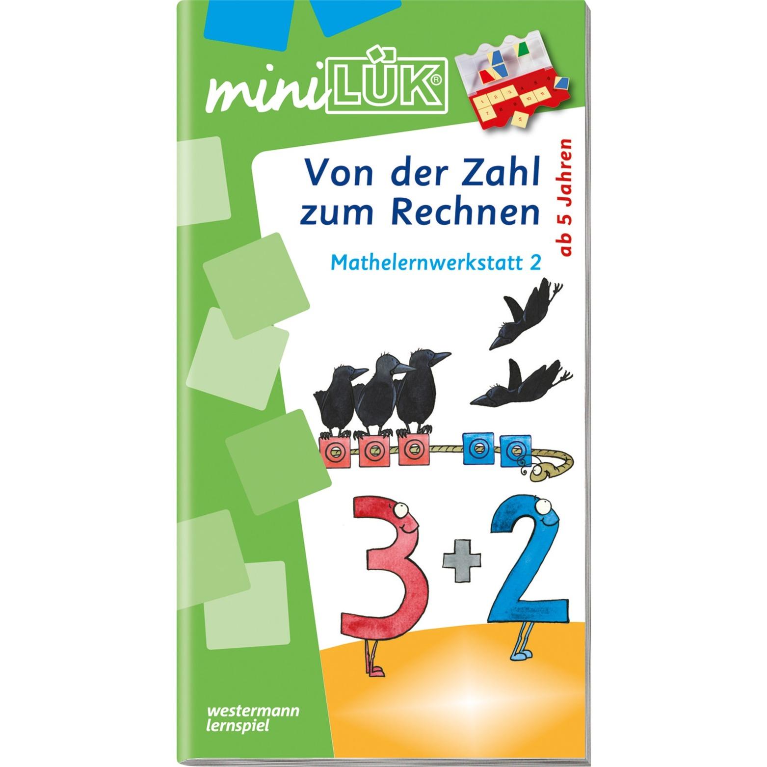 WESTERMANN miniLÜK-Heft: Von der Zahl zum Rechnen, Lernbuch