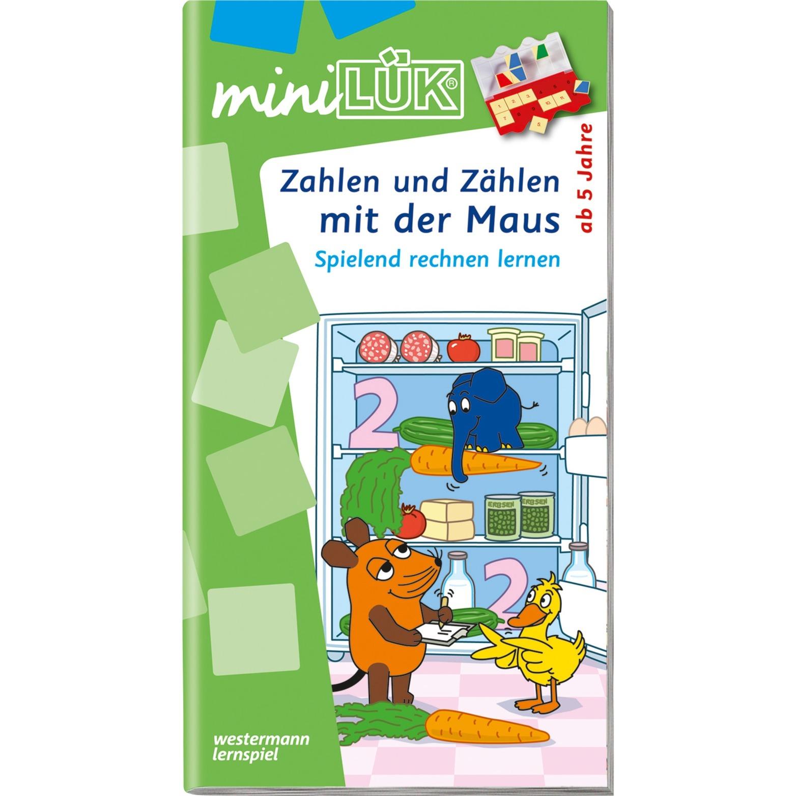 WESTERMANN miniLÜK-Heft: Zahlen und Zählen mit der Maus, Lernbuch