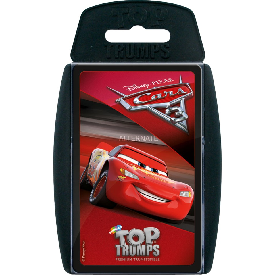 Winning Moves Top Trumps Disney Cars 3, Kartenspiel