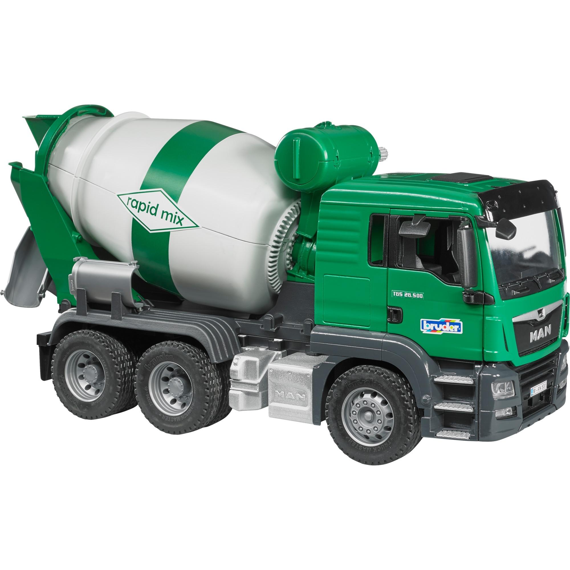 Bruder 03710 MAN TGS Betonmisch-LKW Fahrzeug