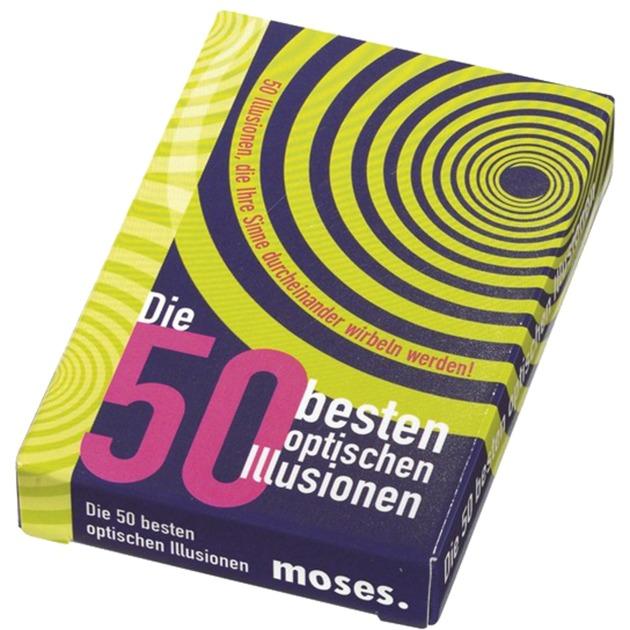 moses.Verlag GmbH 50 Besten optischen Illusionen, Kartenspiel jetztbilligerkaufen