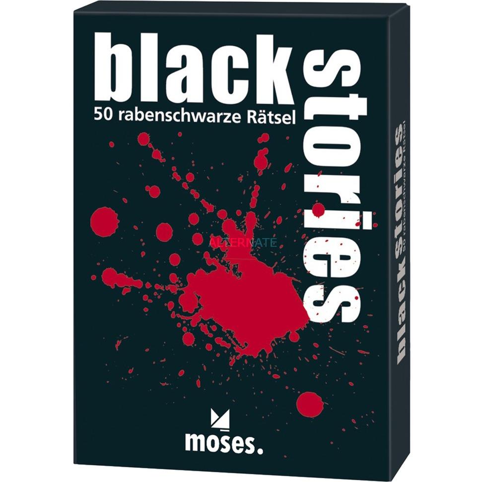 moses.Verlag GmbH Black Stories 1, Kartenspiel jetztbilligerkaufen