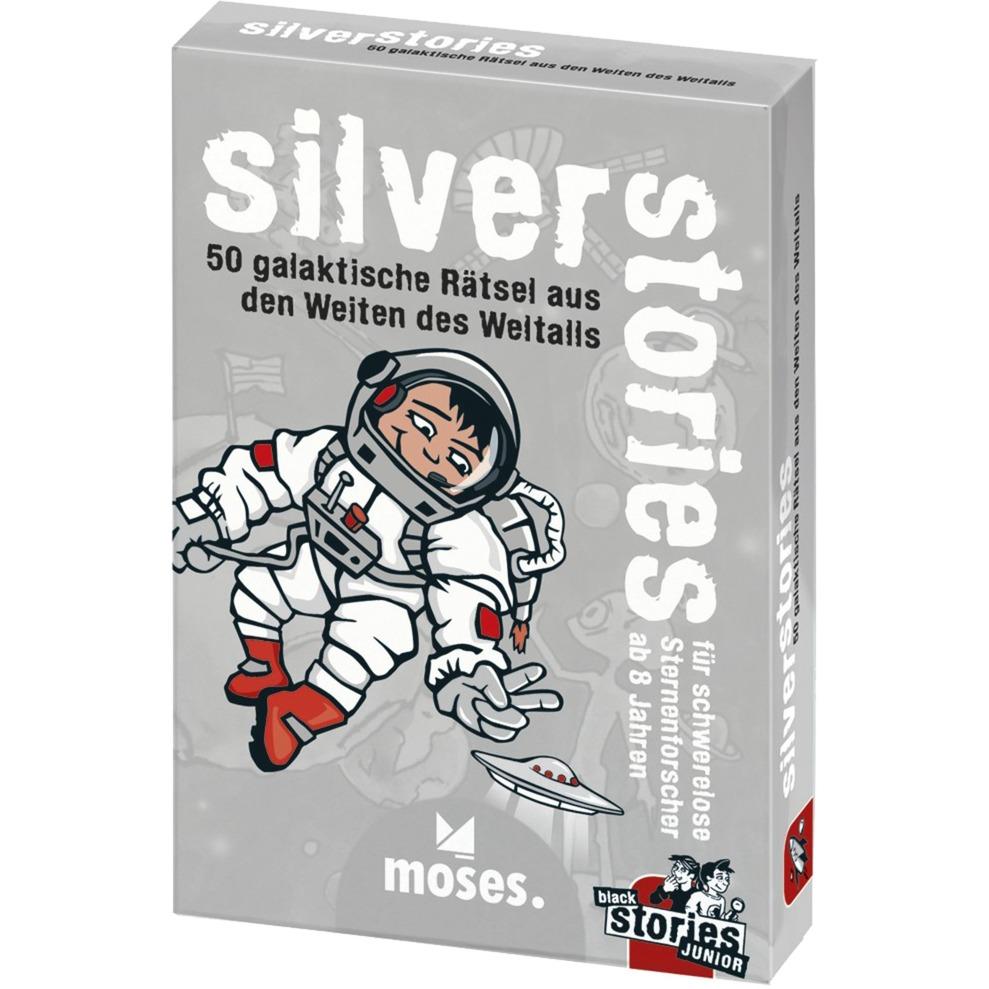 moses.Verlag GmbH Black Stories Junior - Silver Stories, Kartenspiel jetztbilligerkaufen