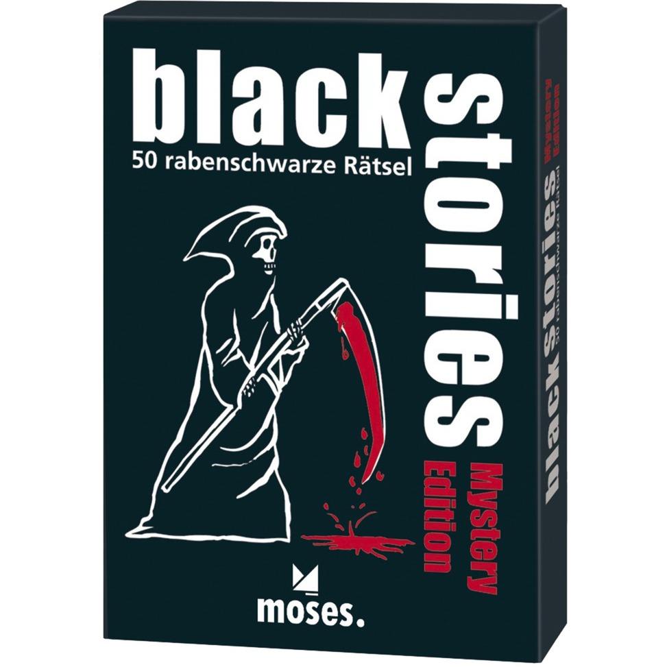moses.Verlag GmbH Black Stories Mystery Edition, Kartenspiel jetztbilligerkaufen