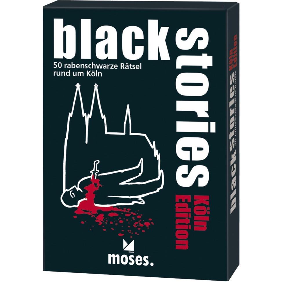 moses.Verlag GmbH Black Stories - Köln Edition, Kartenspiel jetztbilligerkaufen