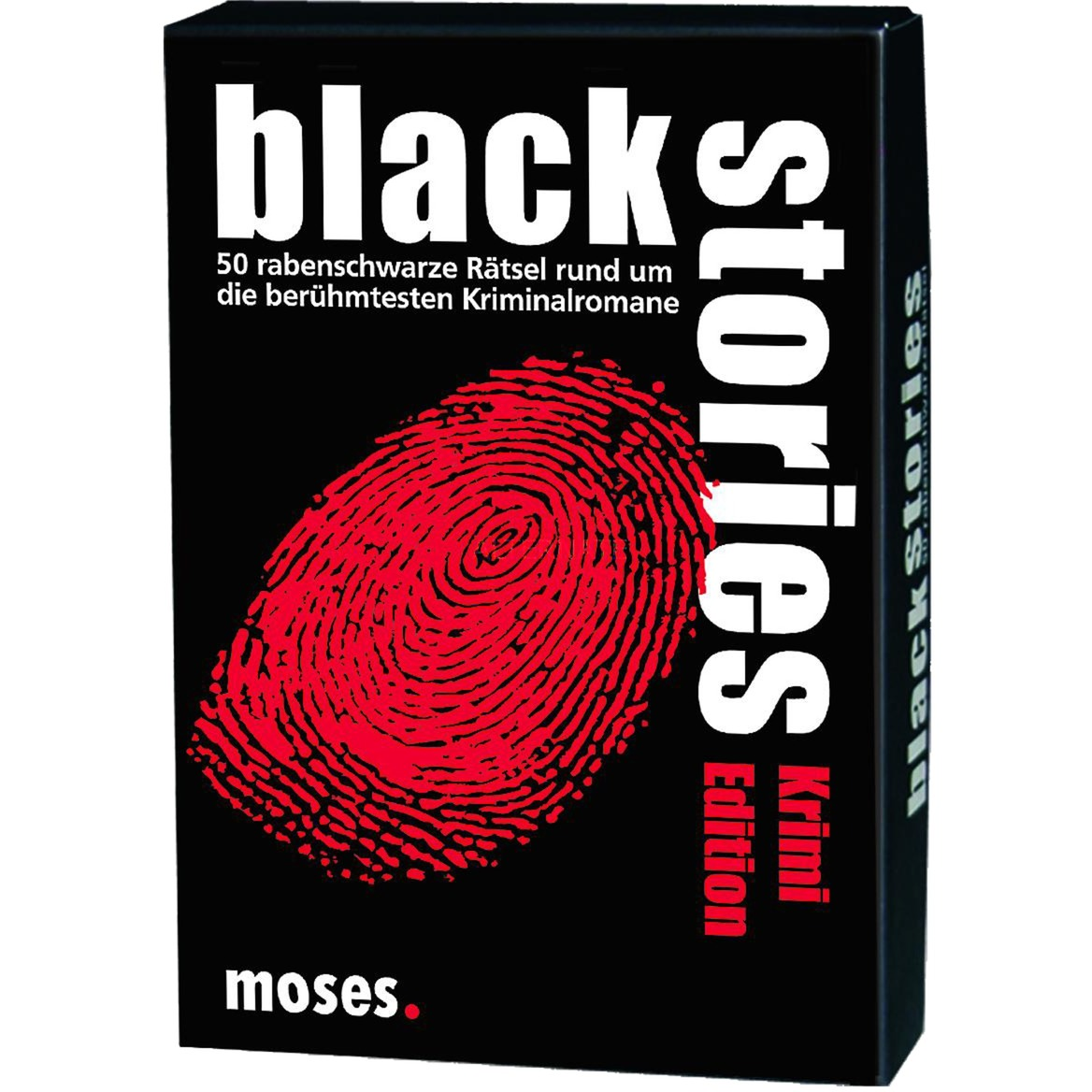 moses.Verlag GmbH Black Stories - Krimi Edition, Kartenspiel jetztbilligerkaufen