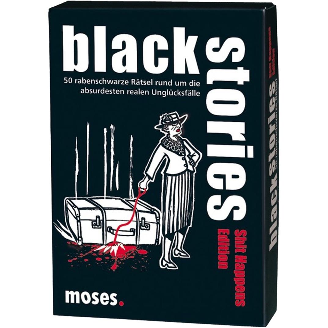 moses.Verlag GmbH Black stories - Shit Happens Edition, Kartenspiel jetztbilligerkaufen