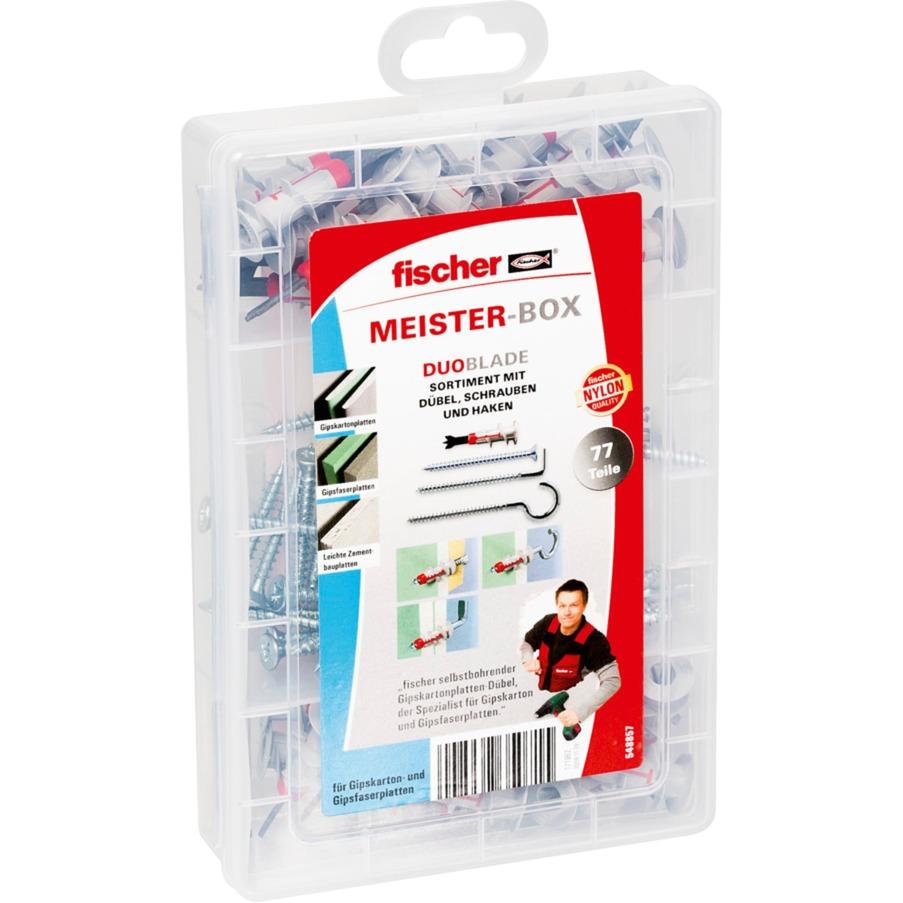 Meister-Box DUOBLADE Gipskartondübel