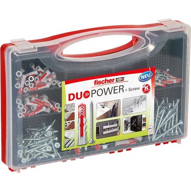 RED BOX DUOPOWER + Schrauben, Dübel