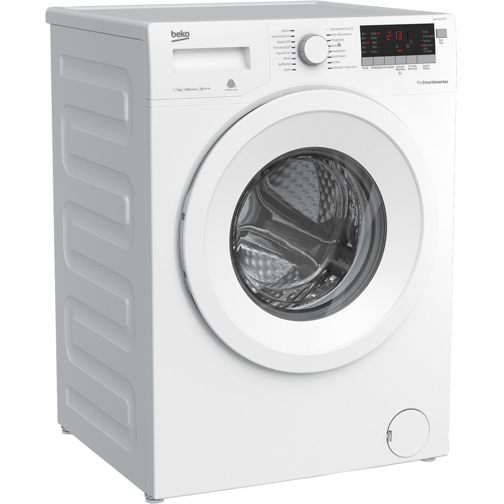 wmb 71643 ptm waschmaschine ab 319 00 eur im preisvergleich. Black Bedroom Furniture Sets. Home Design Ideas