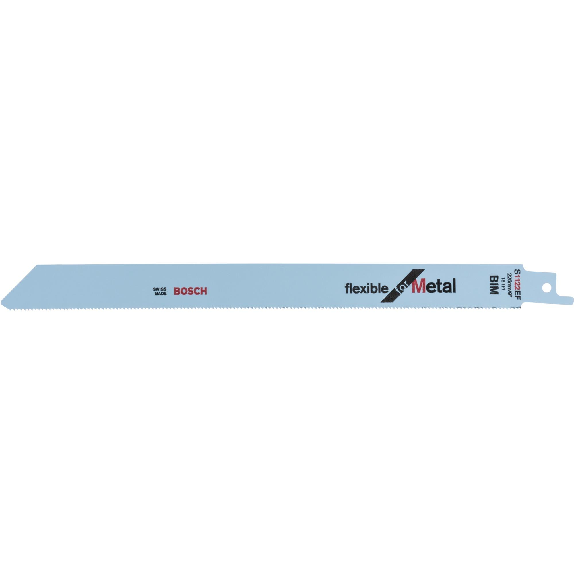 Säbelsägeblatt S 1122 EF Flexible for Metal, 225mm
