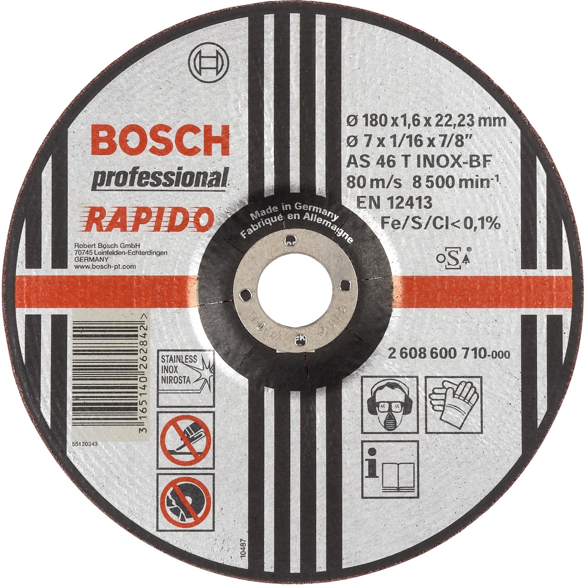 Bosch Trennscheiben Expert For Inox 230x1 9mm