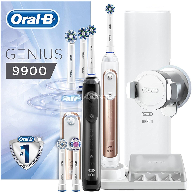 braun oral b genius 9900 elektrische zahnb rste. Black Bedroom Furniture Sets. Home Design Ideas