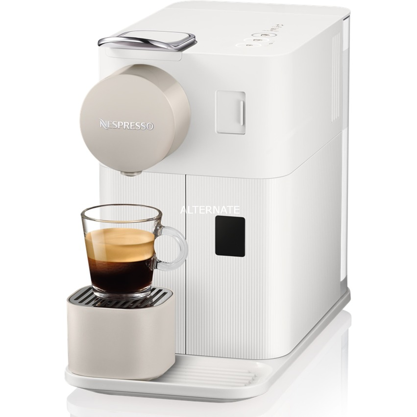 DeLonghi Nespresso Lattissima One EN 500.W, Kapselmaschine weiß