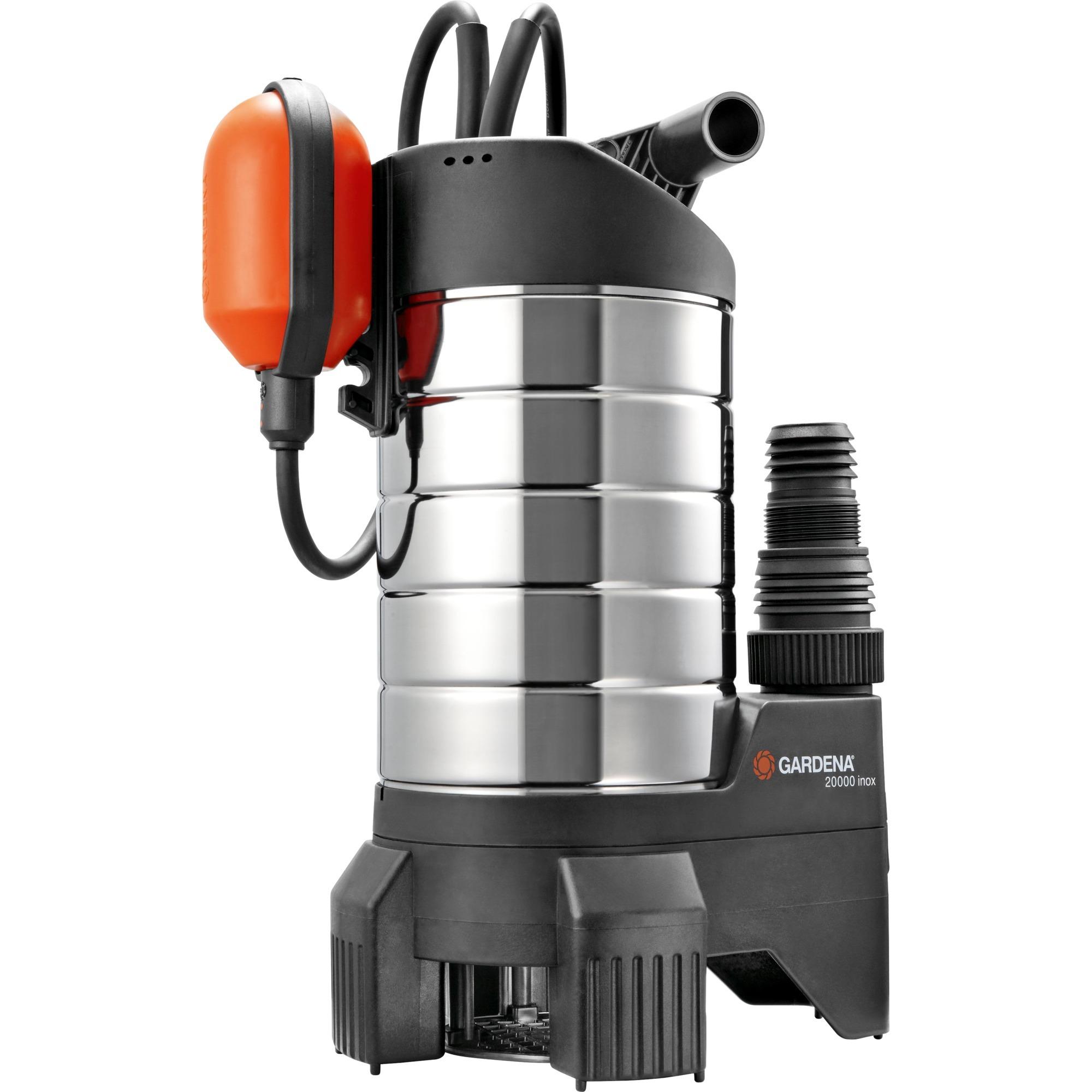 gardena premium schmutzwasserpumpe 20000 inox 01802 20. Black Bedroom Furniture Sets. Home Design Ideas
