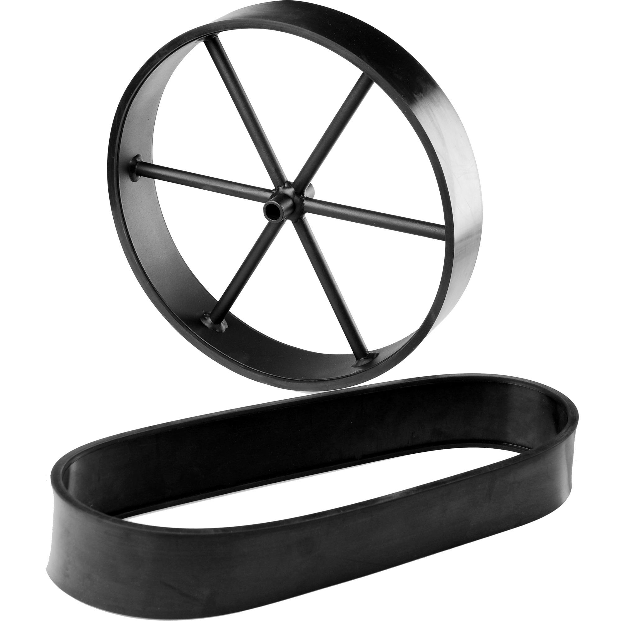 Gummilaufflächen, Reifen
