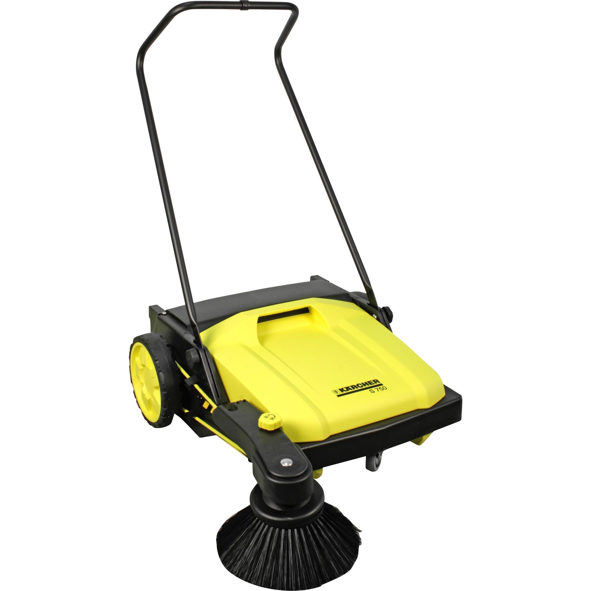 kärcher kehrmaschine s 750 gelb/schwarz