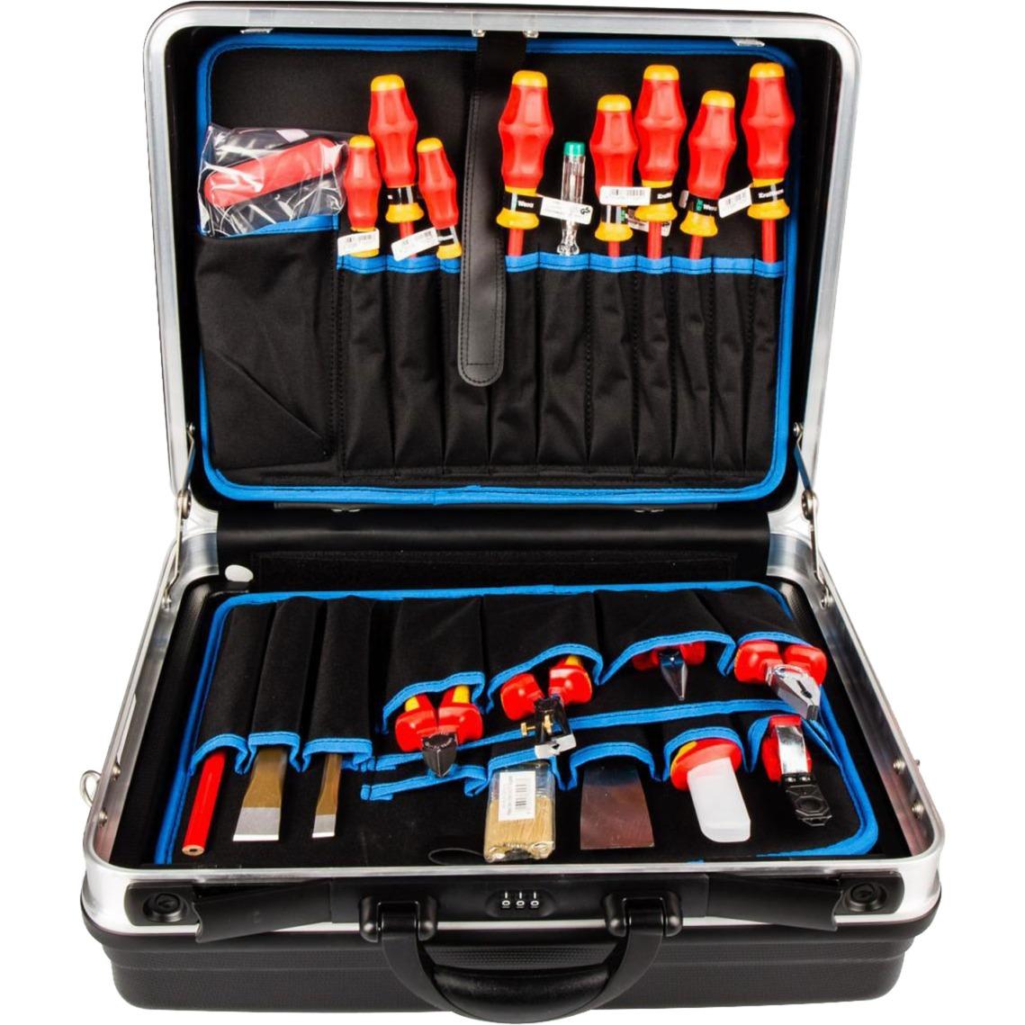 Werkzeugkoffer 002105HLS, 24-teilig, Werkzeug-Set