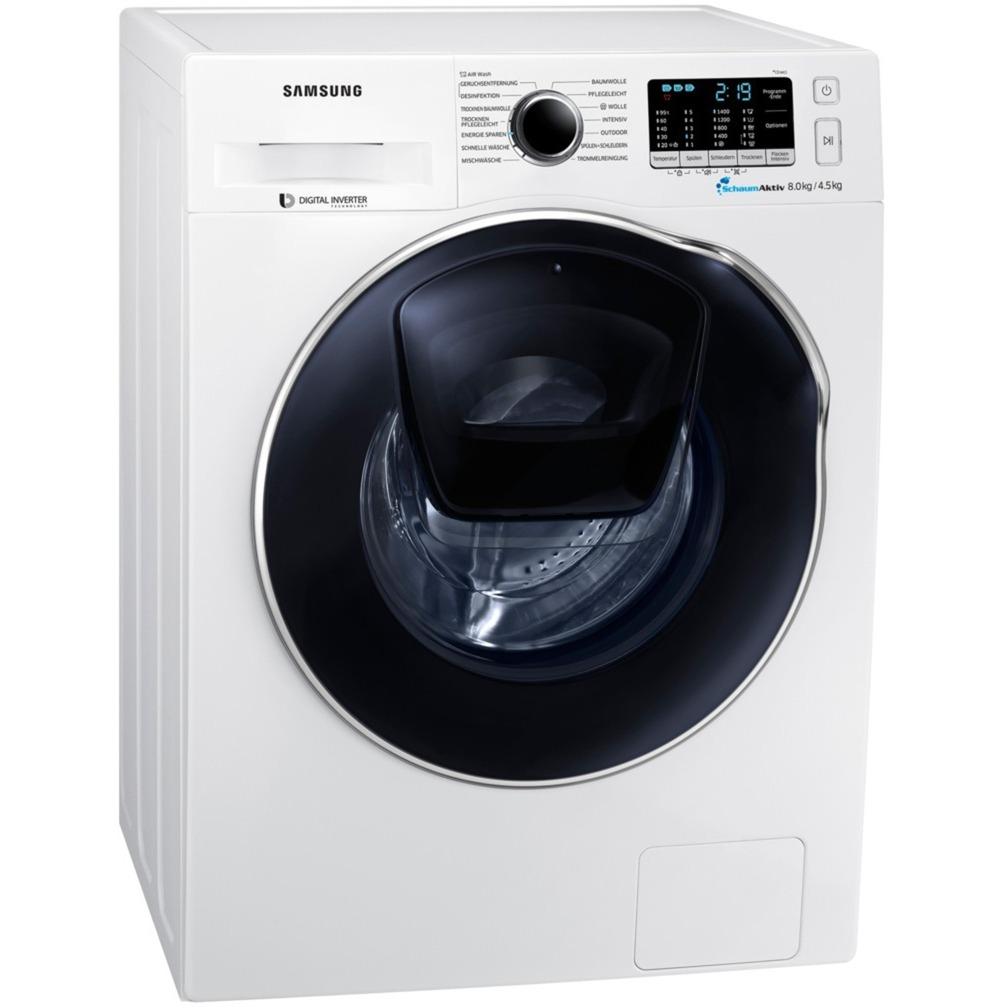 Samsung WD81K5A00OW/EG, Waschtrockner weiß
