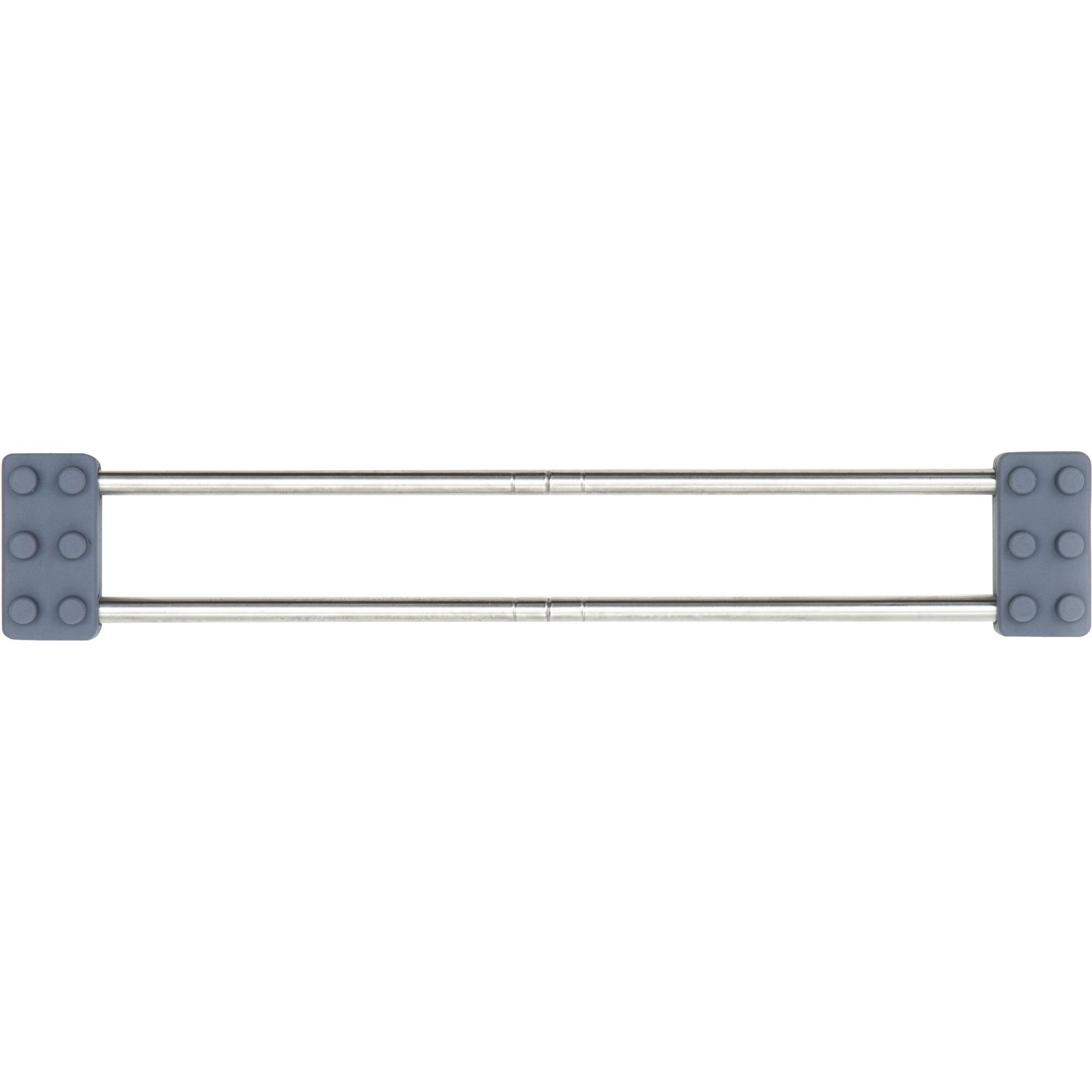 SanniShoo drip.line Abtropfhilfe, Abtropfgestell grau/silber