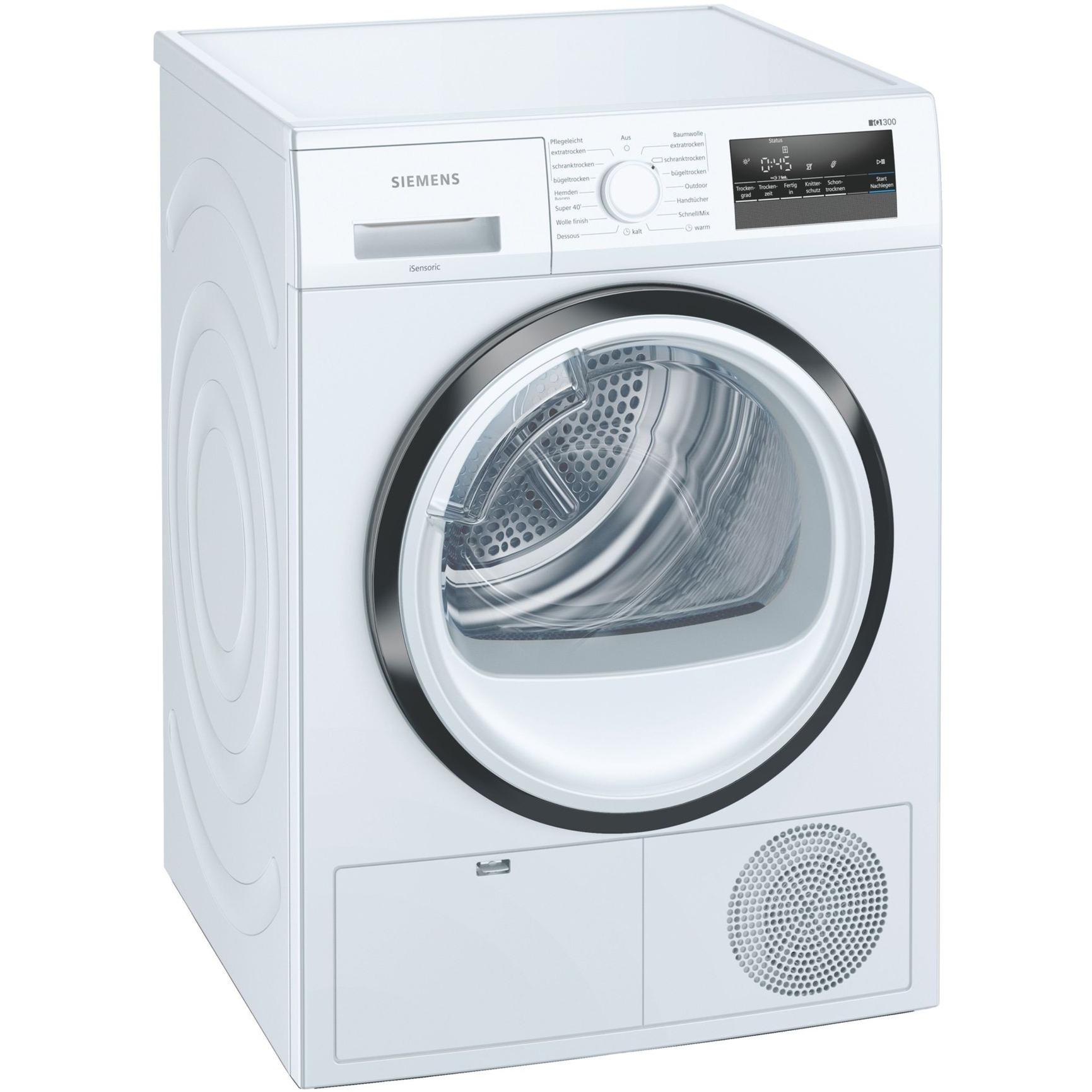 Siemens WT45HVA1 iQ300, Wärmepumpen-Kondensationstrockner