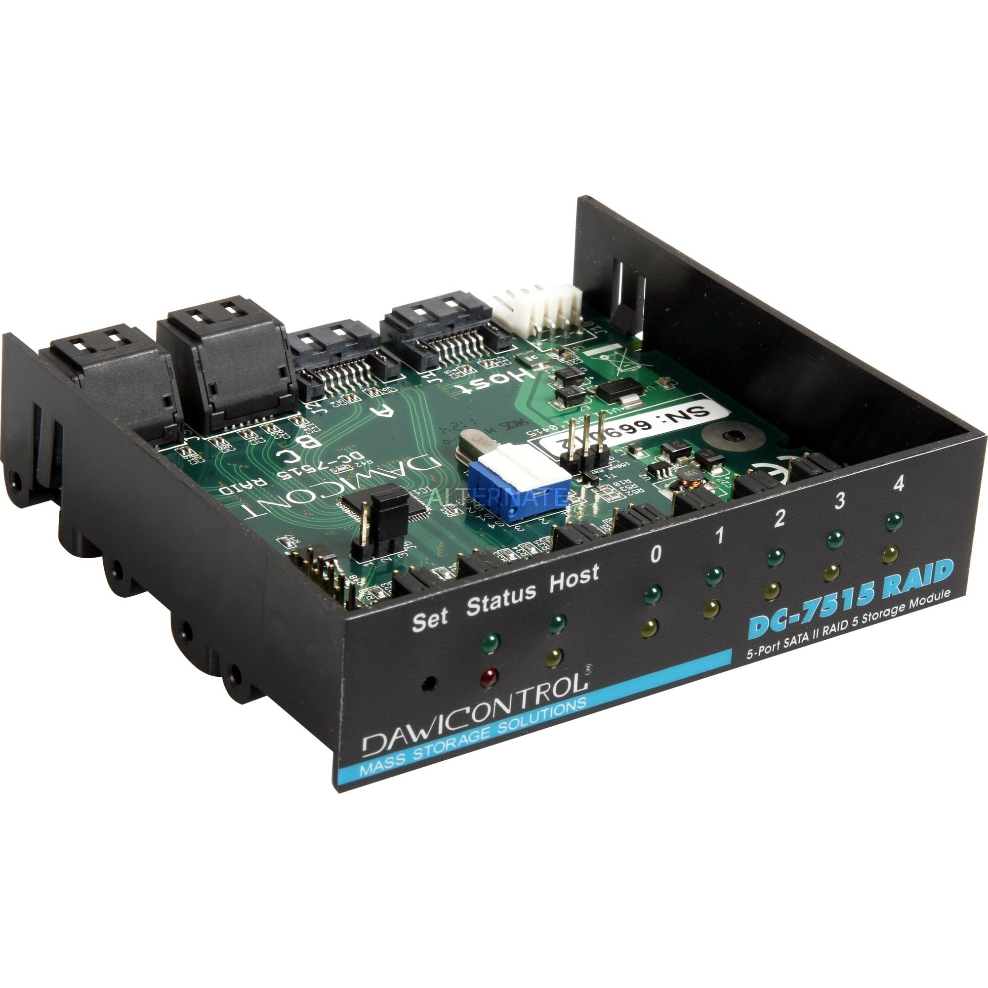 Dawicontrol DC-7515 RAID, Controller