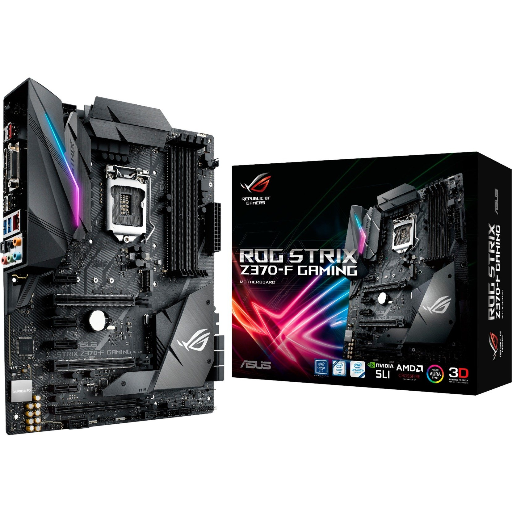 ROG STRIX Z370-F GAMING, Mainboard