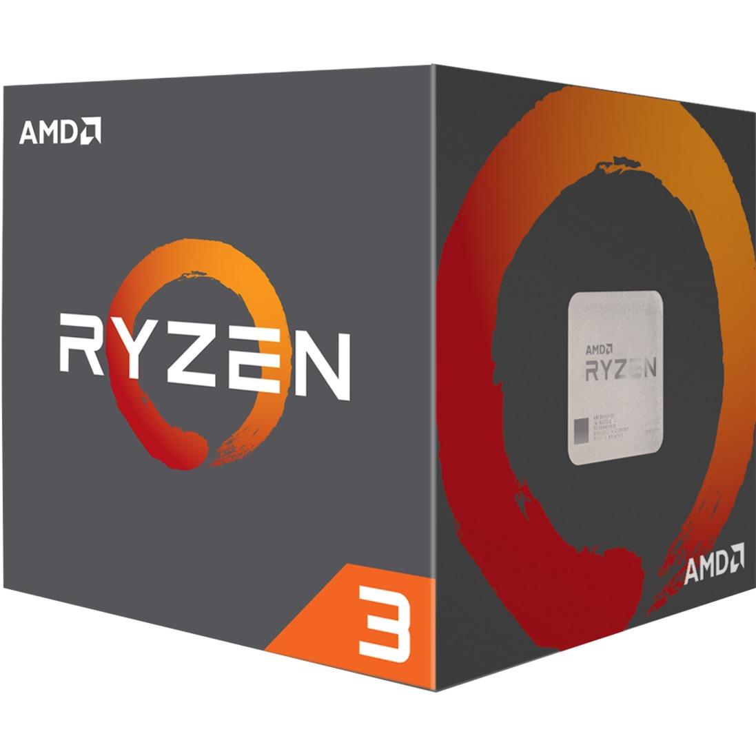 Ryzen 3 1200 WRAITH, Prozessor