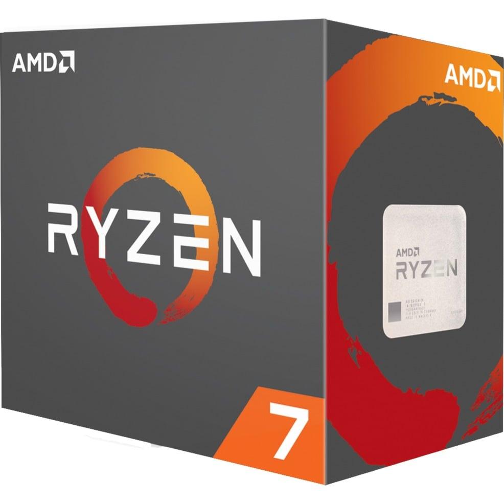 AMD Ryzen 7 1700X WOF, Prozessor + Quake Champions Pack DC-Gamecard