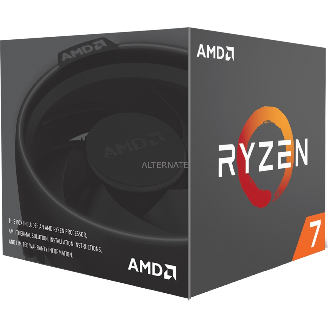 Ryzen 7 2700, Prozessor