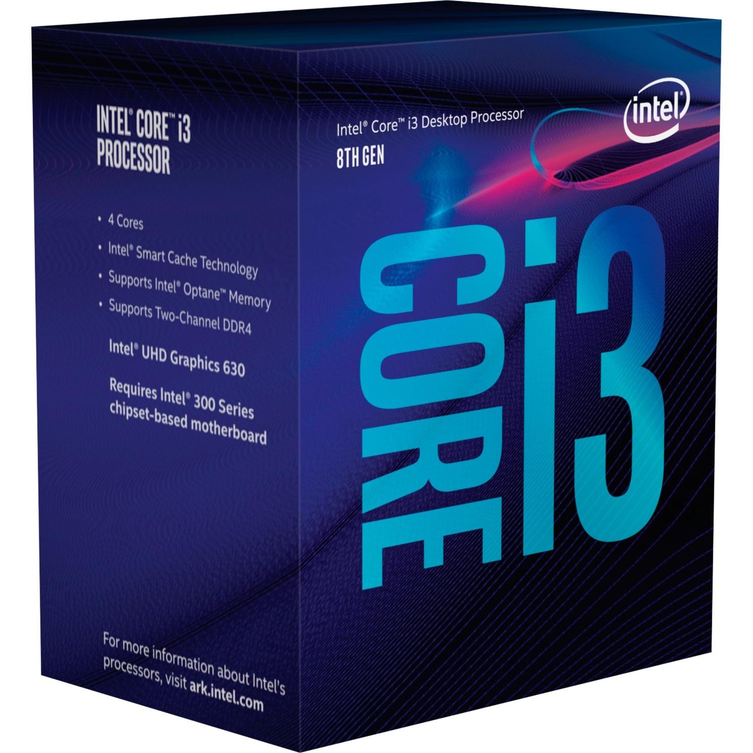 Core i3-8100, Prozessor