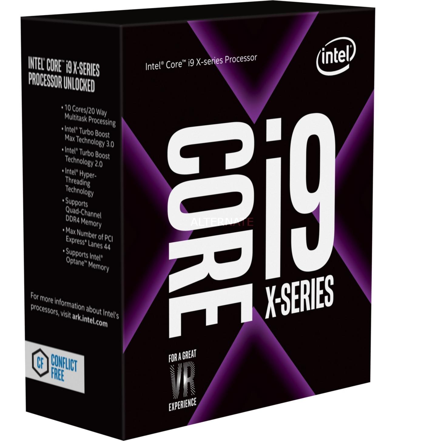 Intel Core i9-7900X, Prozessor