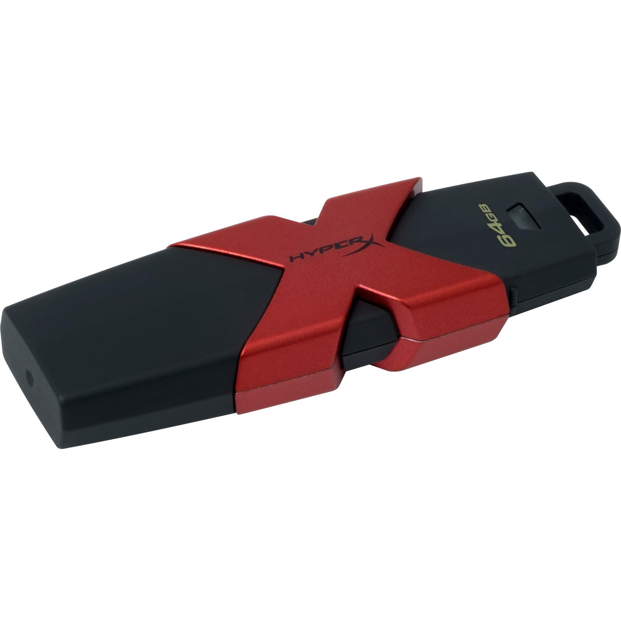 Kingston HyperX HyperX Savage 64GB, USB-Stick