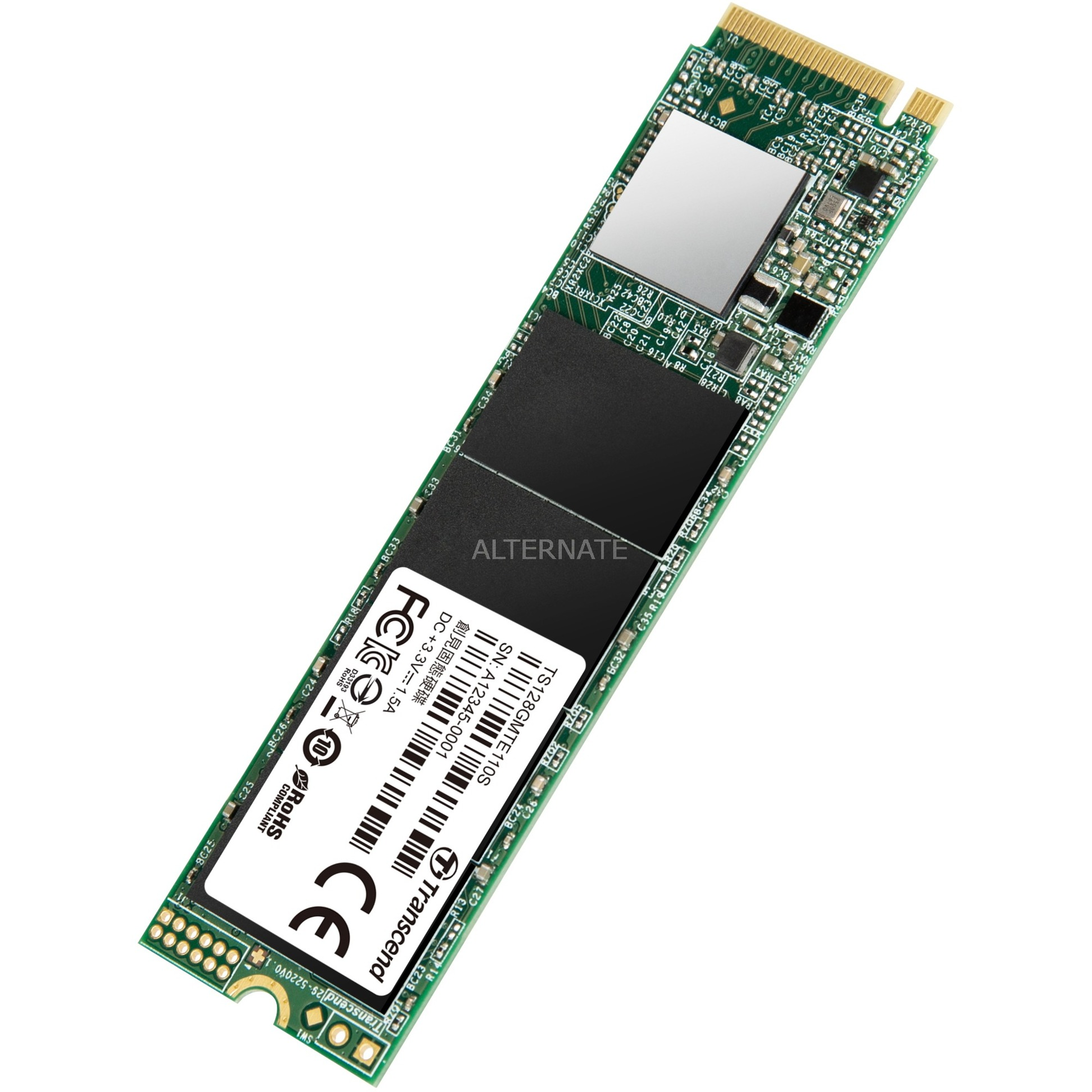 110S 128 GB, Solid State Drive (NVMe PCIe Gen3 x4, 2280 M 2)