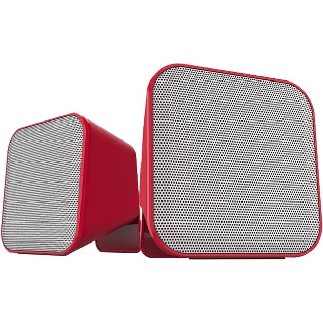 Speedlink Snappy Stereo Speaker rot