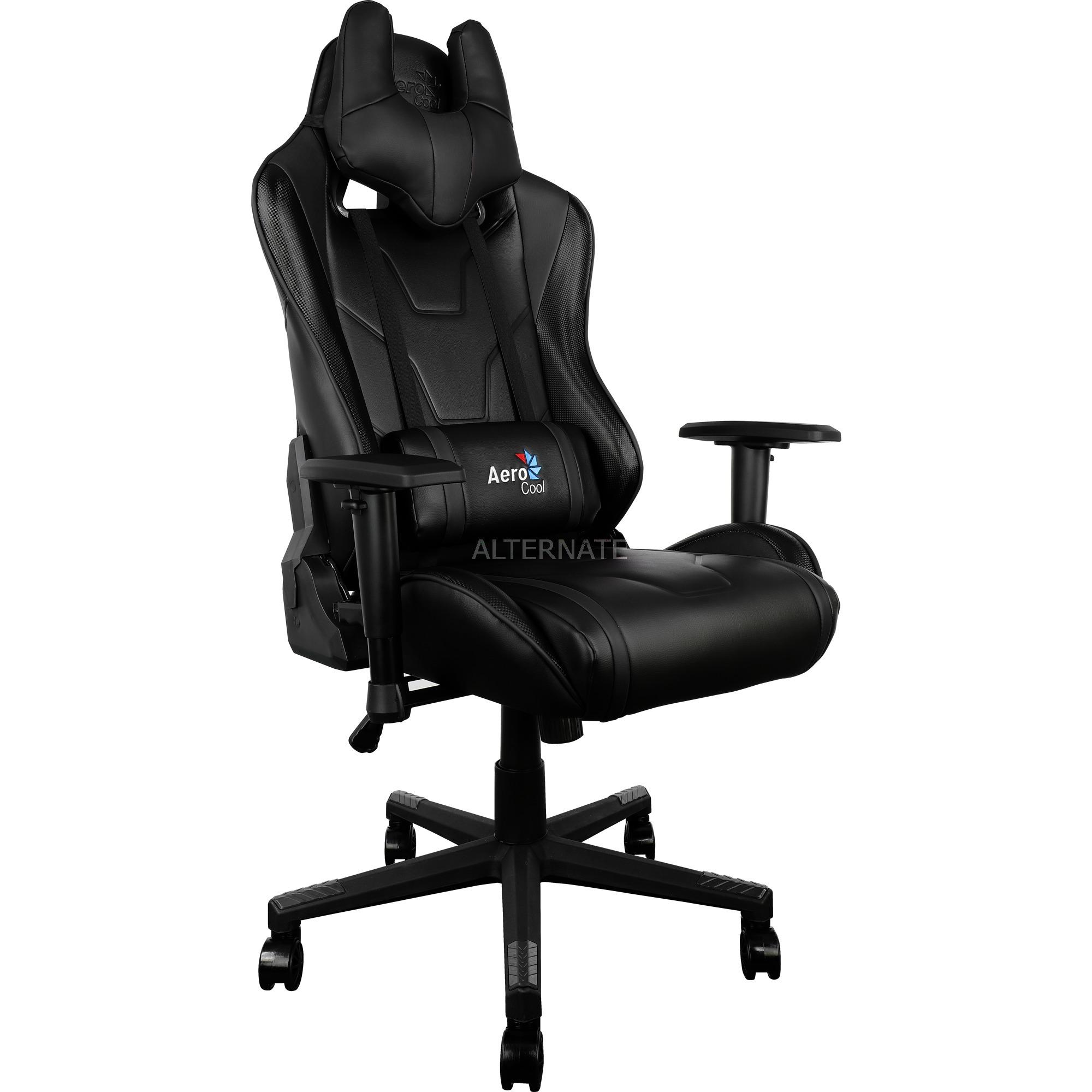 Aerocool Ac220 Rgb Gaming Chair Gaming Stuhl Schwarz