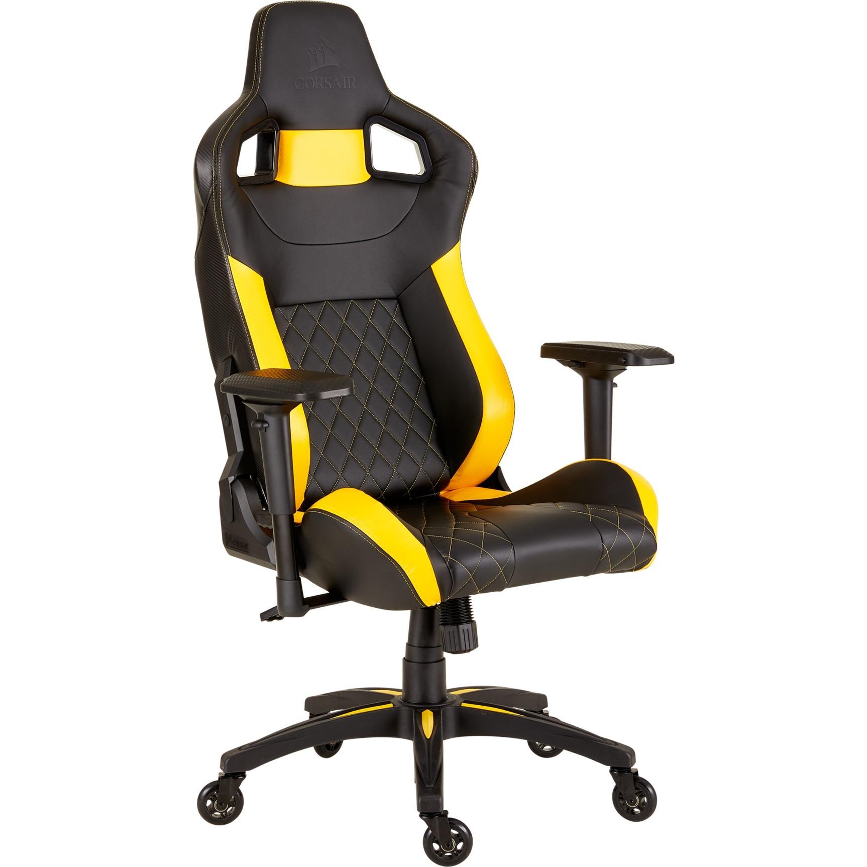 Race T1 T1 Gaming ChairStuhlschwarzgelb Race 2018 hsCxQrtdBo