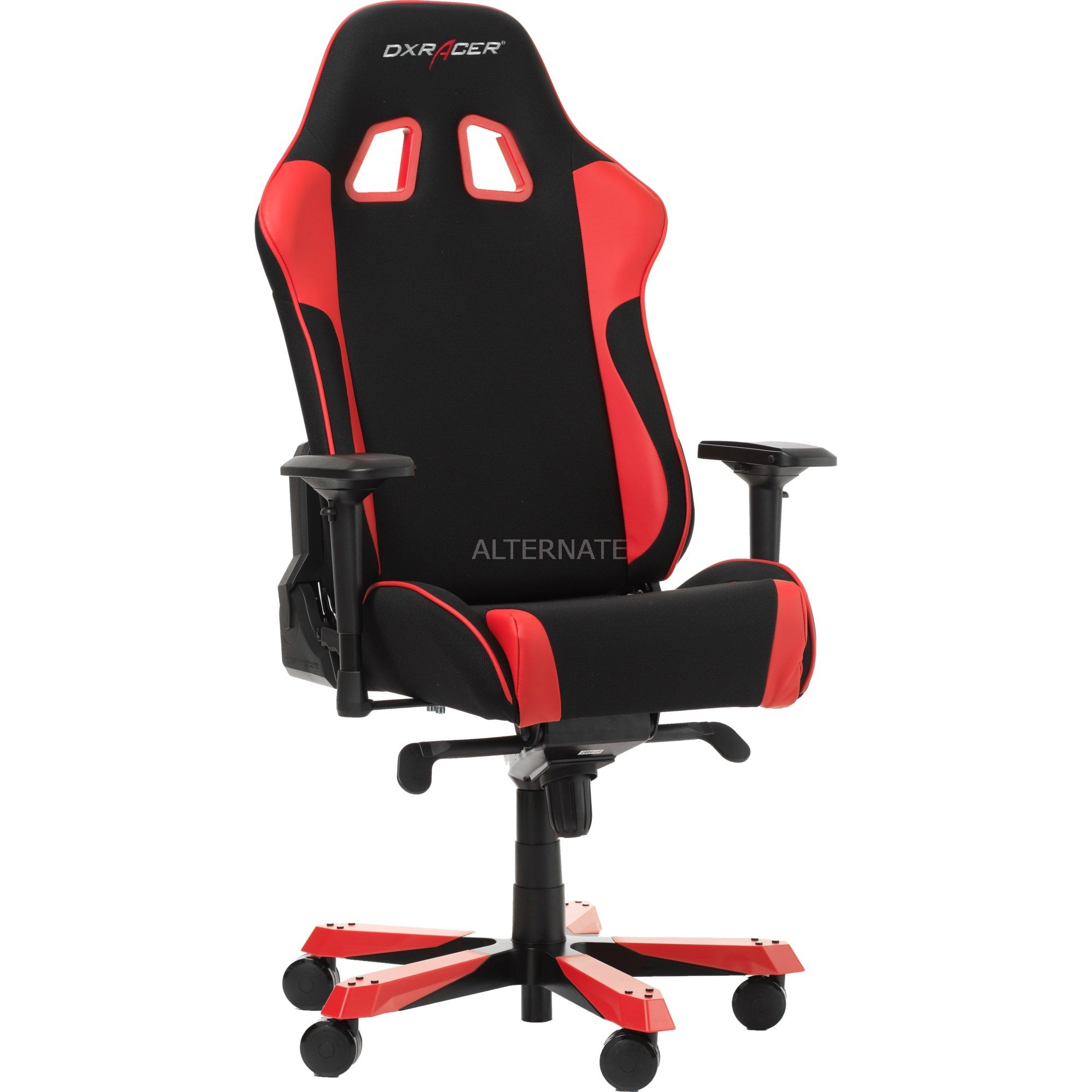 Dxracer King Gaming Chair Gaming Stuhl Schwarzrot