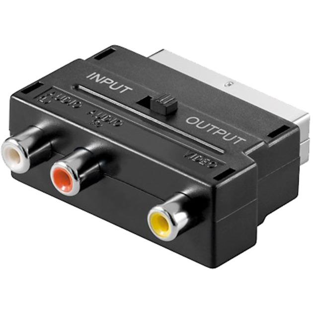 goobay Adapter Scart auf 3x Cinch jetztbilligerkaufen