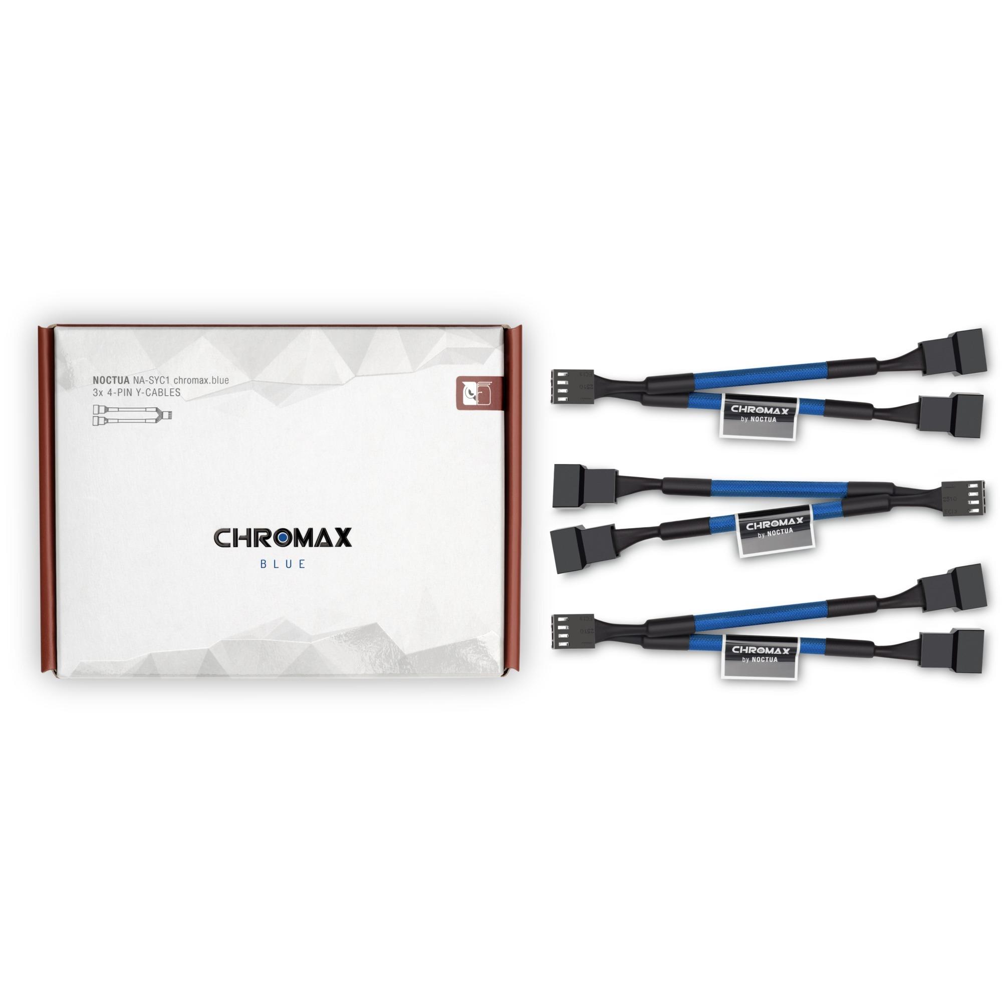 Noctua NA-SYC1 chromax blue, Y-Kabel