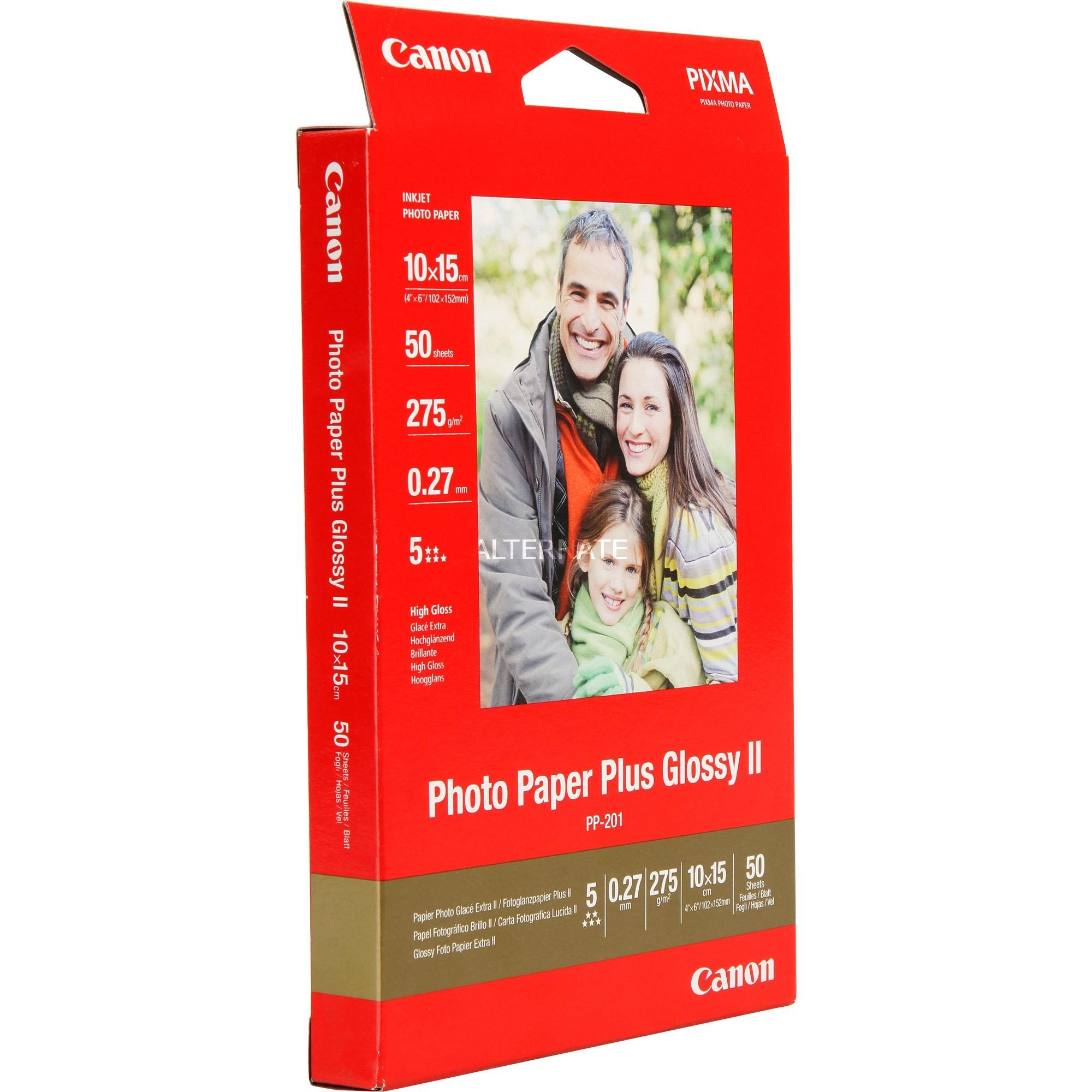 Canon PP-201, Fotopapier 10x15 (50 Blatt), 275 g/qm
