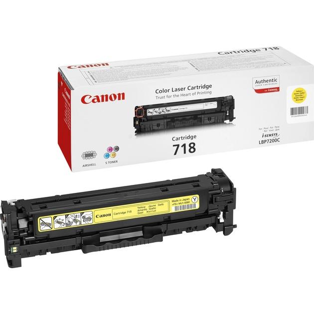 Canon Toner gelb CRG-718Y