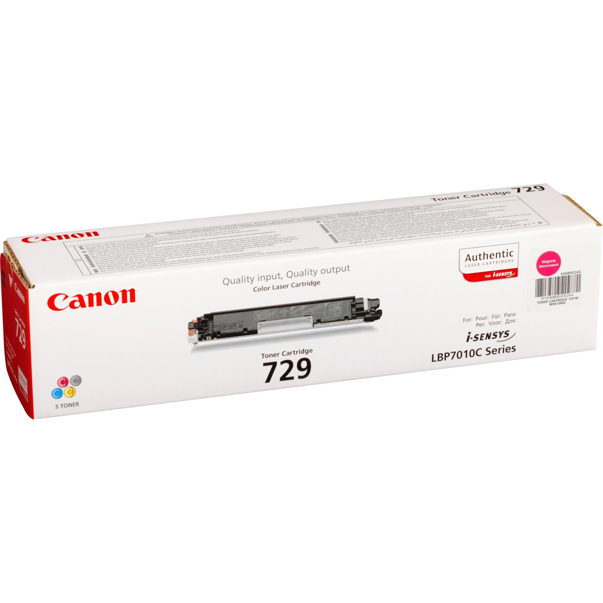 Canon Toner magenta 729M