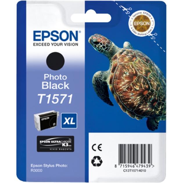 Epson Tinte Foto-Schwarz C13T15714010
