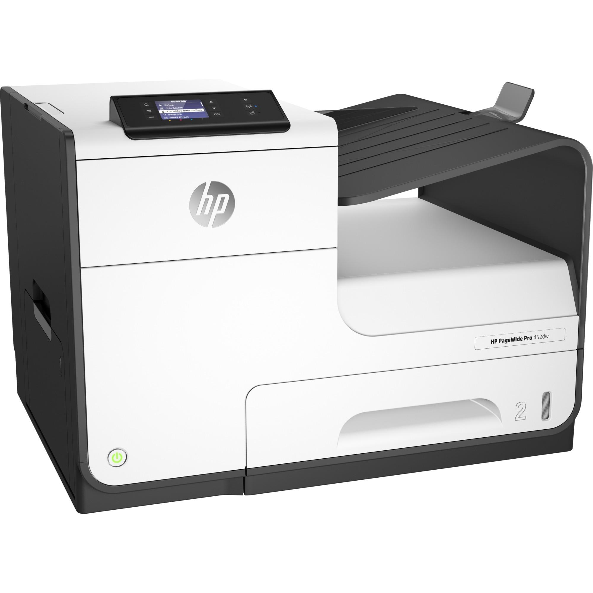 HP PageWide Pro 452dw-Drucker (D3Q16B), Tintenstrahldrucker weiß ...