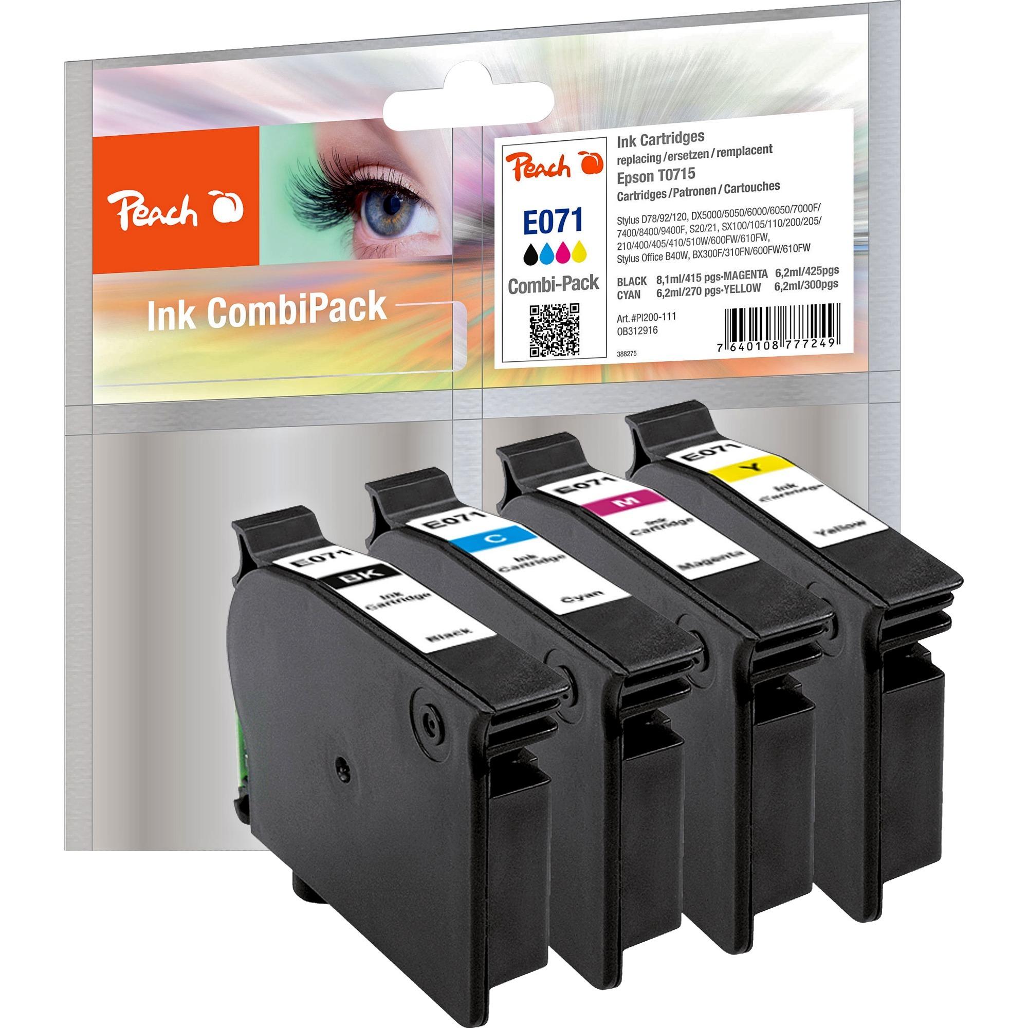 Peach Tinte Spar Pack PI200-111