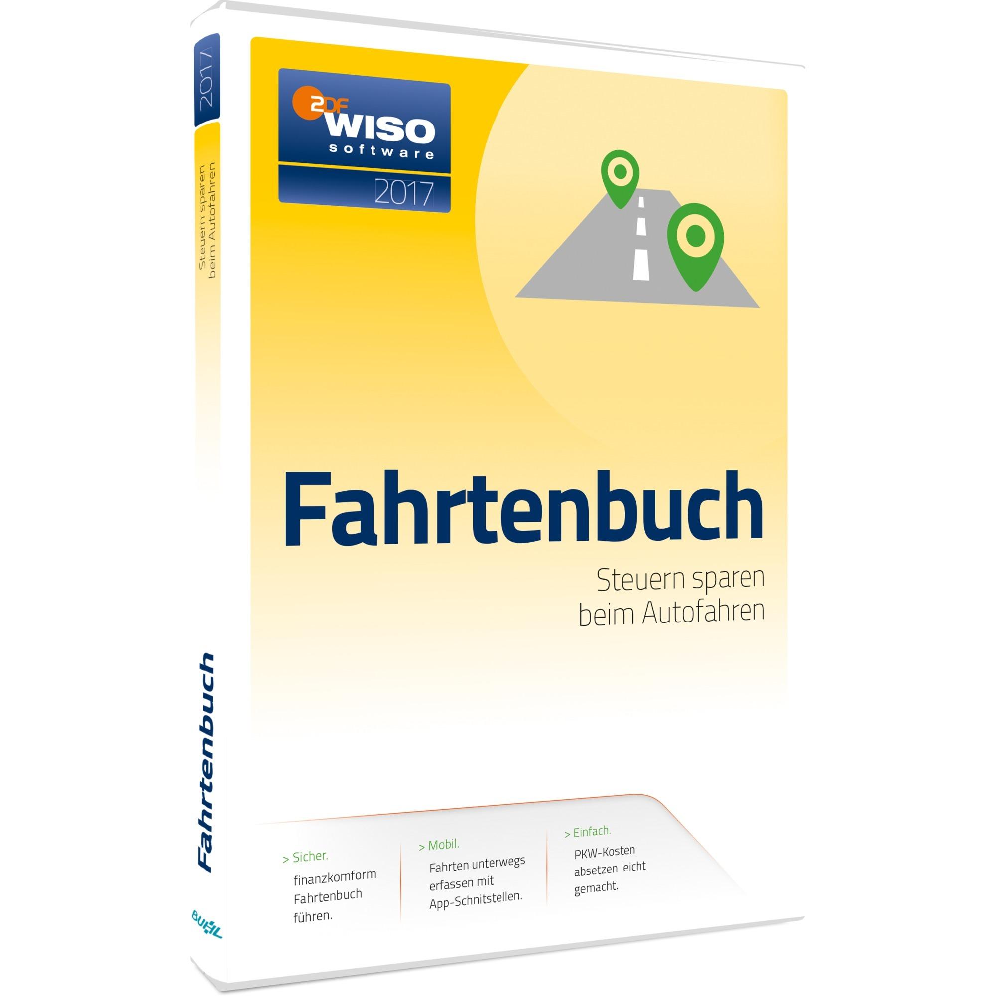 Buhl Data WISO Fahrtenbuch 2017 (PC Win) DE (Download) - broschei