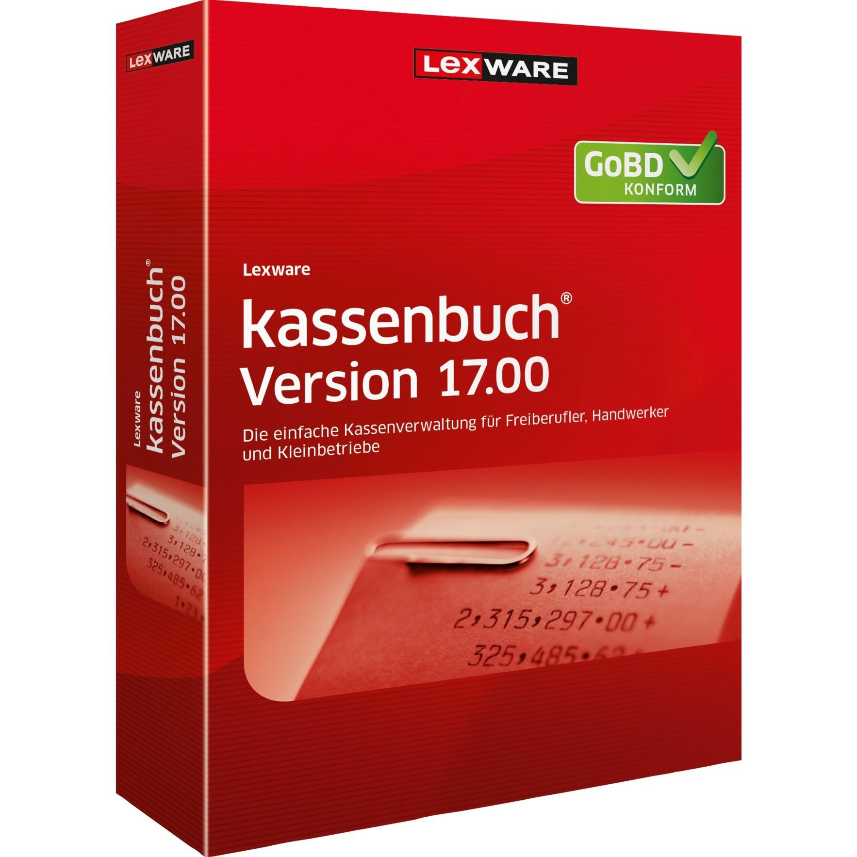 Lexware kassenbuch Version 17.00 (2018) Jahresversion (365-Tage) - broschei