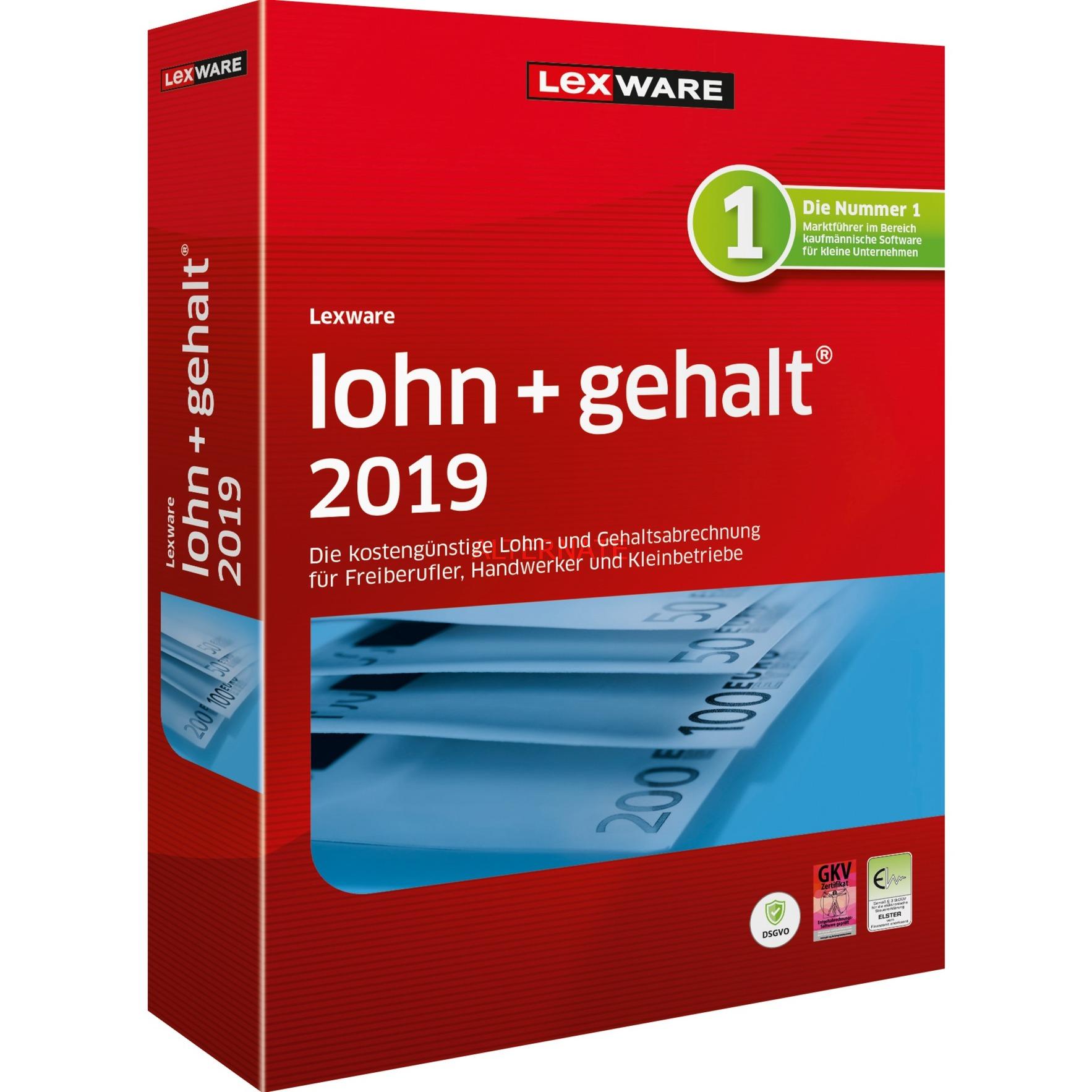 Lexware Lohn+Gehalt 2019, Finanz-Software